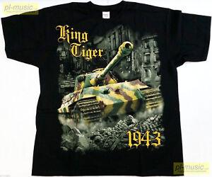 t-shirt KING TIGER [heavy tank Germany] /moro/ WWII / www.pl-music.net