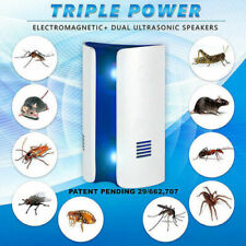 Ultrasonic Electronic Pest Control Rat Mice Repeller Anti Mosquito Insect Killer