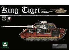 TAKOM GERMAN KING TIGER PORSCHE TURRET W/ZIMMERIT SD.KFZ.182  1/35 COD.2046