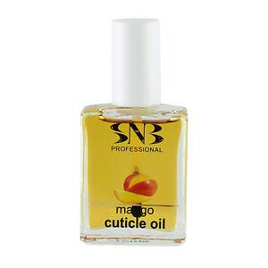 SNB Professional Manicure Nail Cuticle Oil Mango Nail Treatment 0.5oz / 15ml