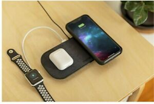 Mophie Dual Wireless Charging Pad in Black