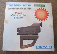 Sanwa Sanpix 1000 RARE Video Camera B/W Camcorder Pxl 2000 Pixelvision MINT
