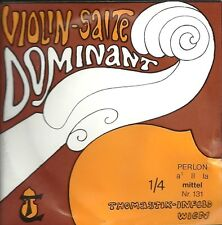 Corde à l'unité Violon DOMINANT VIOLIN SALTE - 131 1/4 - La