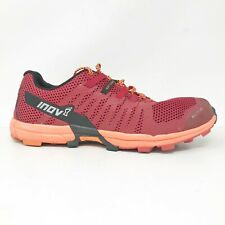 Inov 8 Mens Roclite 290 Red Running Shoes Lace Up Low Top Size M 11 W 12.5
