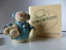 Sarah's Attic Snowonders Mailman Snowman