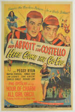 Here Come The Co-Eds Original Movie Poster. 1945. Linen Backed