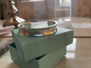 1997 Tiffany & Co Small Bangle 1837 925 Sterling