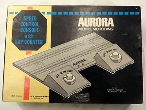 Aurora Model Motoring HO Scale Speed Control Console with Lap Counter
