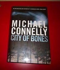 Michael Connelly City Of Huesos 1ST. Ed Primero Impresión con / Dustjacket