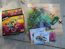 Knex Bulk Lot Motor And Loose, Assorted Pieces, Parts Books 1 lb