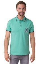 LOVE MOSCHINO Polo Shirt Size L Split Hem Short Sleeve Half Button M830403E1766