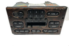 SAAB CLARION OEM AM/FM RADIO STEREO CASSETTE PLAYER 4224929 - UNTESTED - AS-IS
