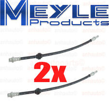 Set of 2  Meyle Front Brake Hoses BMW E46 323 325 328 330 M3 Z4 NEW