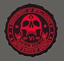 DEPARTMENT OF DEFENSE SACRED SILENCE INTELLIGENCE 3.5 INCH HOOK PATCH