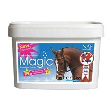 NAF MAGIC 5* CALMER HORSE SUPPLEMENT  NERVOUS COMPETITION TRAVEL 750g