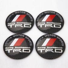 "4x 56mm 2.2"" Car Wheel Center Hub Cap Emblem Badge Decal Sticker for TRD Racing"