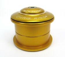 """Chris King Inset 4 Headset Zs49 Zs49 1 1/8"""" Gold"""