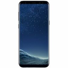 "NEU Samsung Galaxy S8 + Plus Dual Sim G955FD 64GB 6.2"" Entsperrt-Midnight Black"