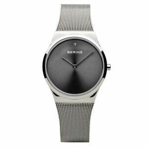 Bering Ladies Watch Wristwatch Classic - 12130-009 Meshband