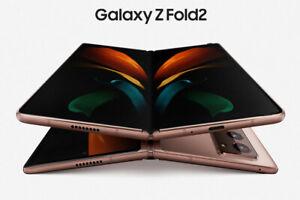 """Samsung Galaxy Z Fold2 5G F916 7.6"""" foldable screen 256GB 12GB RAM ByFedEx"""