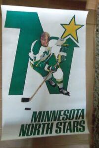 1971 NHL HOCKEY POSTER - MINNESOTA NORTH STARS