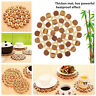 Quick-cleaning Placemat Insulation Mats Pad Coasters Kitchen/Dining Table Bamboo