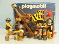 Playmobil Caballeros asalto catapulta medieval Lannister GOT años 90 Ref 3653 2