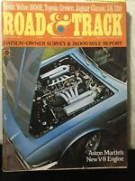 February 1970 Road and Track Magazine FREE SHIPPING
