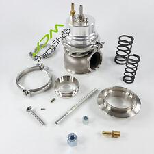 New Adjustable Silver Turbocharger Turbo  External 60mm Wastegate+V-Band Kits