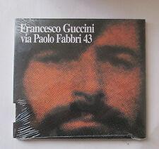 # FRANCESCO GUCCINI - VIA PAOLO FABBRI 43 -  CD NUOVO SIGILLATO - SLIDE PACK