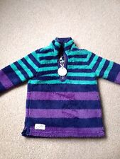 Boys/Girls Age 7 Joules Fluffy Top, New With Tags