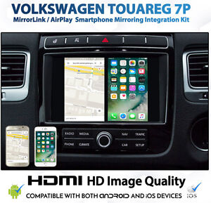 Volkswagen Touareg RNS 850 Smartphone Integration for Android and iPhone