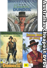 Crocodile Dundee 1, 2 & 3 DVD NEW, FREE POSTAGE WITHIN AUSTRALIA REGION ALL