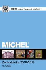Michel Übersee Katalog Band 6/1 Zentralafrika 2018/2019