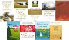 La Ley De La Atracción El Dinero Hicks 18 Libros digital formato PDF + 16 Audios