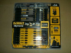 DEWALT 34 Piece FLEXTORQ™ Screwdriver Bit Set In A TOUGH CASE+ DT70746T-QZ