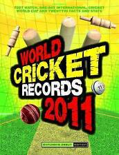 World Cricket Records 2011 2011, Hawkes, Chris, Very Good Book