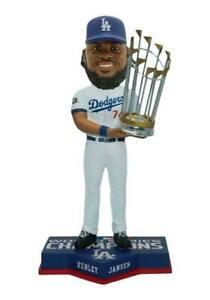 Kenley Jansen Los Angeles Dodgers 2020 World Series Champions Bobblehead NEW