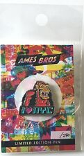 Pearl Jam pin ames bros. new york donkey kong poster image limited edition pj