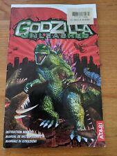Godzilla Unleashed - Nintendo Wii Manual only