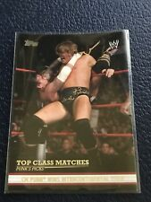 CM PUNK 2012 Topps WWE Top Class Matches #3 of 10  MINT w/Top Loader