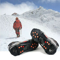 Durable Over Shoe Studded Snow Grips Ice Grips Anti Slip Snow Crampons Cleats