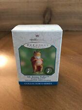 2000 Hallmark Ornament Mr. Jeremy Fisher Frog 5th Beatrix Potter Series Nib New