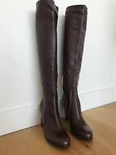 Sale!!! made in Italy Prada Leather Boots Size 38 Brown Color