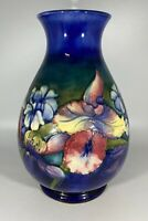 William Moorcroft Pottery, Large Ovoid Form Vase with Floral Orchid Design   (PH