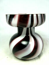 "Well shaped formschöne Carlo Moretti "" marble "" design Murano glass vase 10,5 cm"