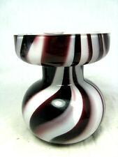 """Well shaped formschöne Carlo Moretti """" marble """" design Murano glass vase 10,5 cm"""