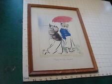 Original Pencil SIGNED Edmund Blampied Print: scottie dog playing golfing GOLF