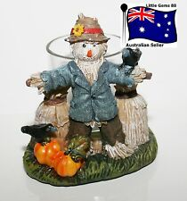 YANKEE CANDLE Votive HOLDER ~ Scarecrow ~ FROM THE HOMESTEAD COLLECTION