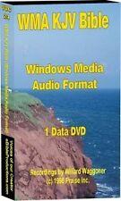 WMA KJV Audio Bible on 1 DVD Chapter Stereo 75Hrs